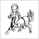 20 Pieces Brave Horse Mustang Protection Powers Charms Findings Jewelry Pendant Necklace Making 15x14mm