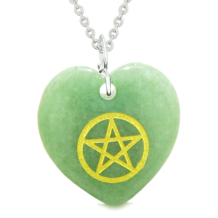 lucky charms amulets magical pentacle energy