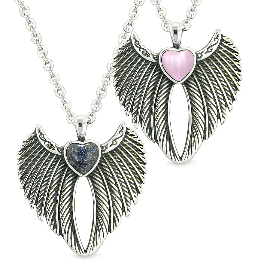 Lucky Angel Charms Amp Totems Angel Wings Magic Hearts