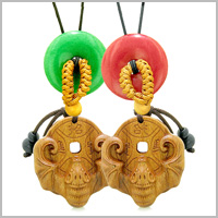 MAGIC BAT FORTUNE WOODEN Car Charms