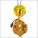 Magic Bat Fortune Car Charm or Home Decor Tiger Eye Lucky Coin Donut Protection Powers Amulet
