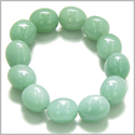 Amulet Tumbled Green Aventurine Crystals Good Luck Money Powers Lucky Charm Gemstone Bracelet