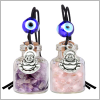 LUCKY BUDDHA Gemstone Car Charms