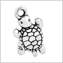 20 Pieces Cute Turtles Magical Powers Lucky Charms Findings Jewelry Pendants Necklaces Making 21 X 12mm