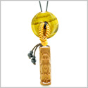 Magic Dragon Car Charm or Home Decor Tiger Eye Lucky Coin Donut Protection Powers Amulet
