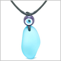 FREE FORM WATER DROP AMULETS