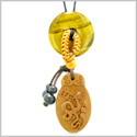 Magic Snake Fortune Car Charm or Home Decor Tiger Eye Lucky Coin Donut Protection Powers Amulet