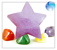 GEMSTONE LUCKY STARS CARVINGS