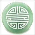 Long Life Force Magic Amulet Green Aventurine Gemstone Circle Spiritual Powers Keepsake Individual Totem