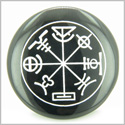Talisman of Mercury Complete Circle of Time Black Onyx Magic Gemstone Spiritual Powers Keepsake Individual Totem