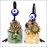TREE of LIFE MAGIC SUN Gemstone Car Charms