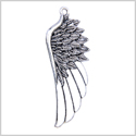 20 Pieces Large Angel Wings Cute Lucky Charm Feathers Findings Jewelry Pendant Necklaces Making 54 X 22mm