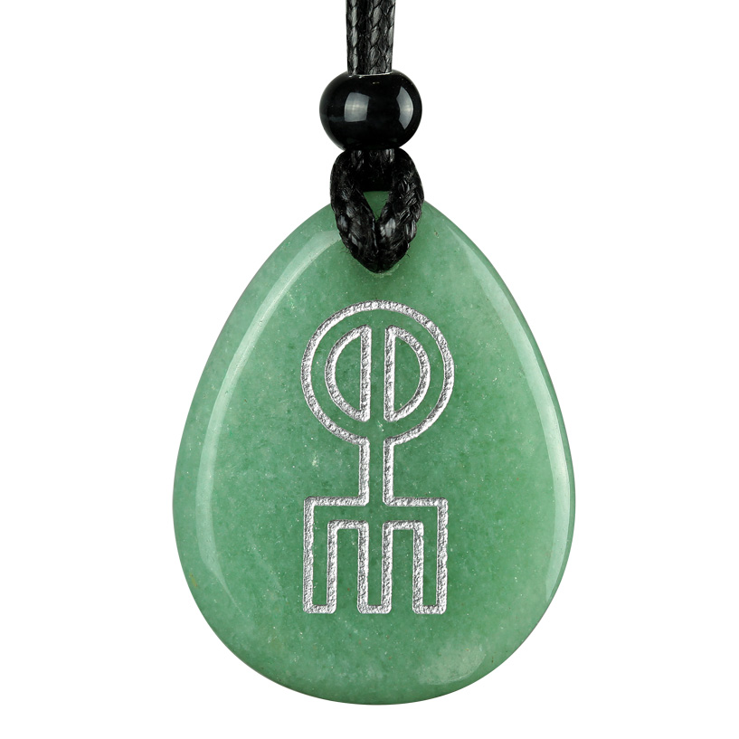 runic pendants keychains amulet norse rune spell charm