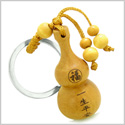 Amulet Good Luck Wulu Magic Powers Charm Feng Shui Symbols Keychain Blessing