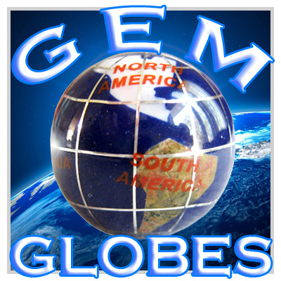 Good Luck Gemstone Globes