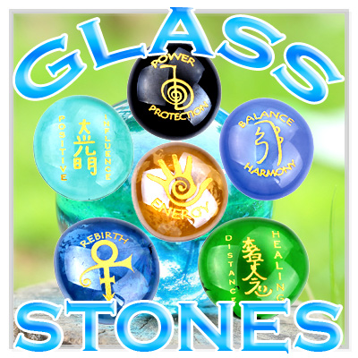 Magic Glass Stones Amulets