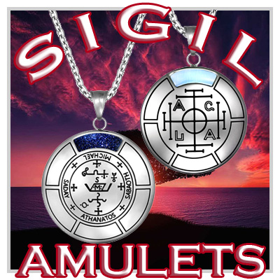 Unique Medallion Amulets