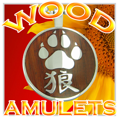 Exclusive Magic Positive Energy Wooden Amulets