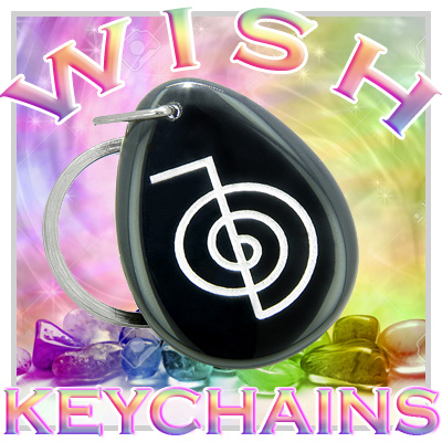 Wish Stones Good Luck Keychains