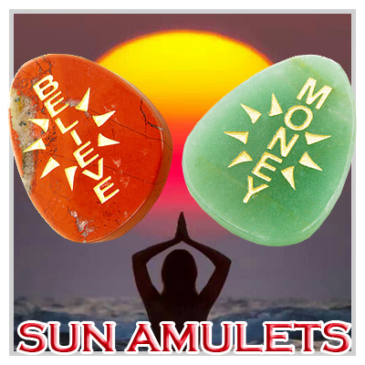 Positive Energy Sun Amulets