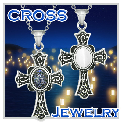 Positive Energy Holy Cross Charms And Amulets