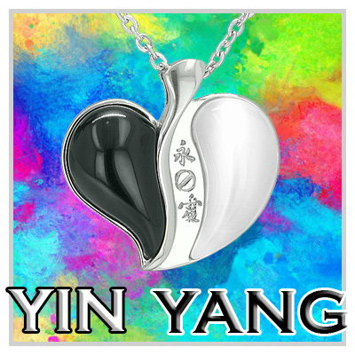 Lucky Ying Yang Charms
