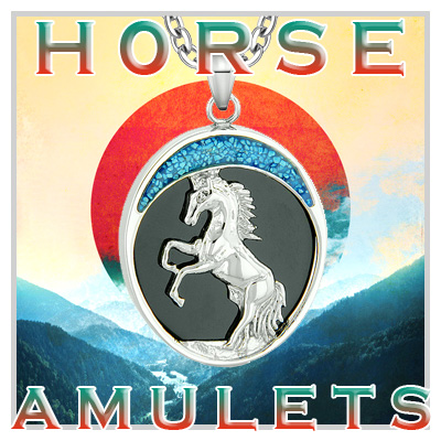 Horse Wild Powers Amulets