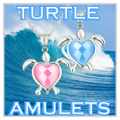 Lucky Turtle Totems & Charms