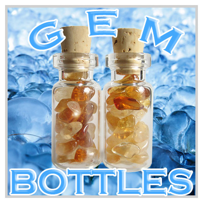 Lucky Gemstone Bottles