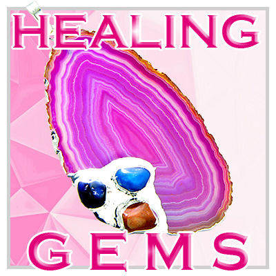 Healing Gemstones And Pouches
