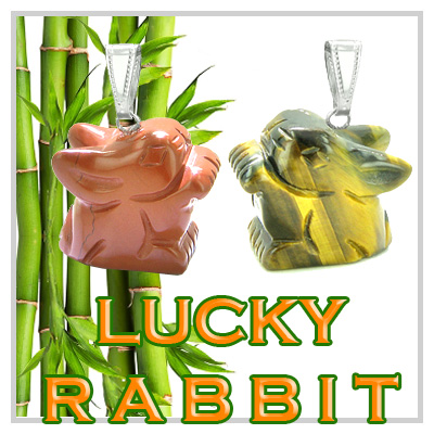 Lucky Rabbit Charms & Totems