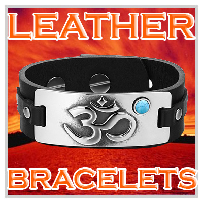 Magic And Unique Amulet Leather Bracelets