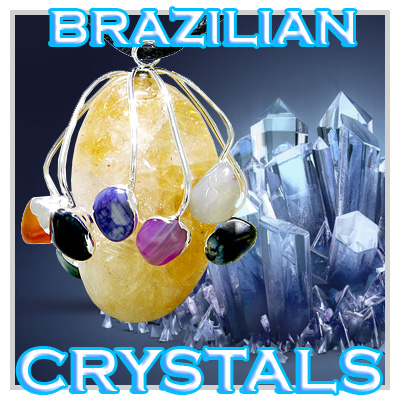 Brazilian Jewelry Amulets And Crystals