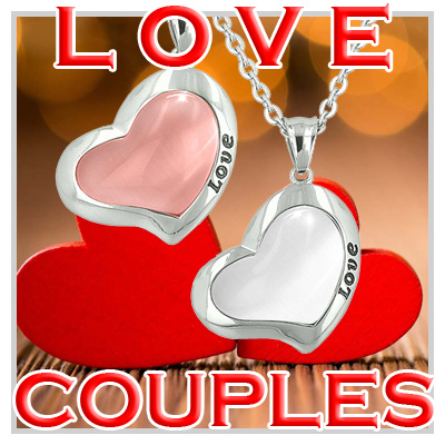 Best Friends And Love Couple Unique Amulets