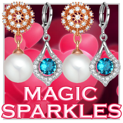 Magical Sparkling Amulets