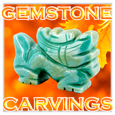 Gemstone Carvings & Lucky Totems