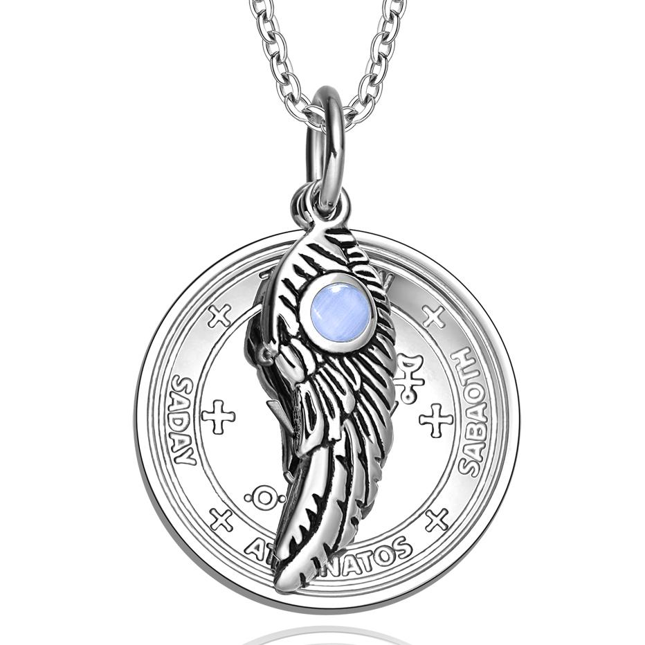 Archangel Sigils Magic Wings Medallions Positive Energy Jewelry Amulets and Talismans