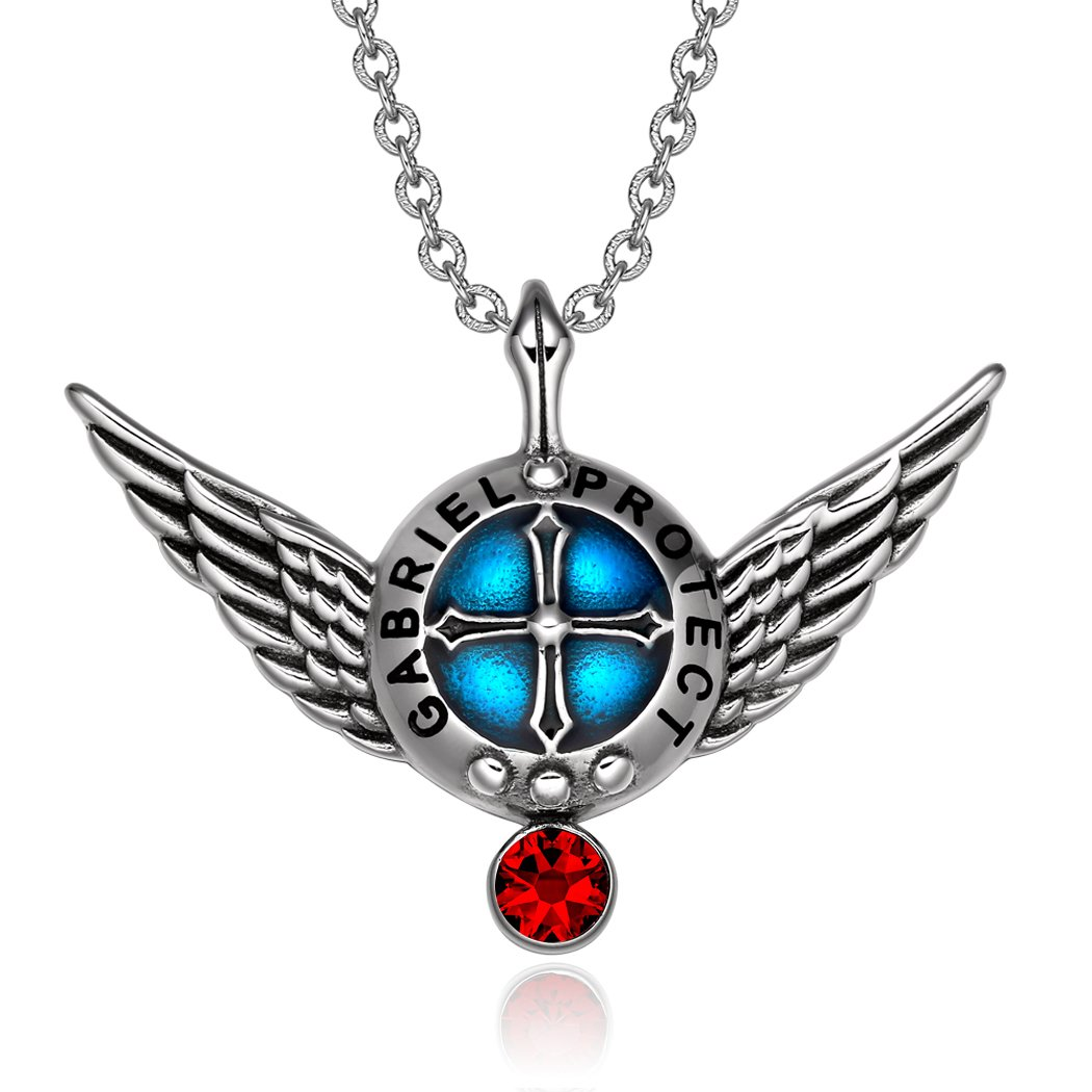 Guardian Archangel Shield and Wings Protection Powers Jewelry Amulets and Talismans