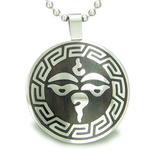 Tibetan Lucky Third Eye Buddha Symbols Jewelry Amulets and Talismans