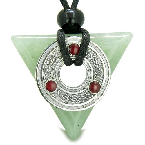 Celtic Protection Knots Good Luck Powers Arrowhead and Triangle Amulets