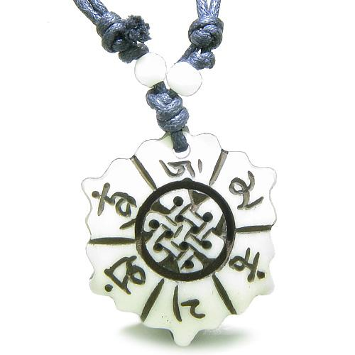Celtic Protection Knots Good Luck Powers Buffalo Bone Amulets and Talismans