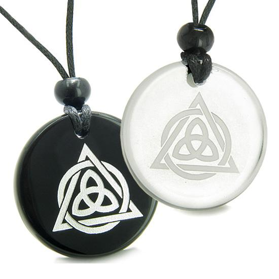 Celtic Protection Knots Good Luck Powers Love Couples and Best Friends Jewelry Amulets