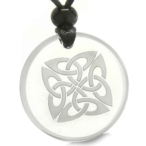 Celtic Protection Knots Good Luck Powers Natural Gemstones Jewelry and Gifts