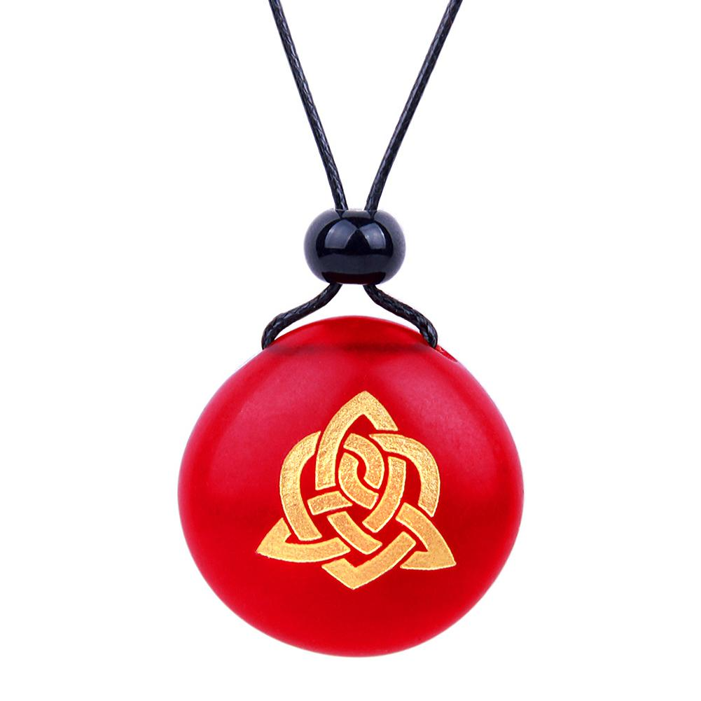 Celtic Protection Knots Good Luck Symbols Sea Glass Jewelry Amulets and Talismans