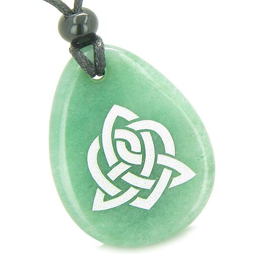Celtic Protection Knots Good Luck Charms Wish Stones Amulets and Talismans