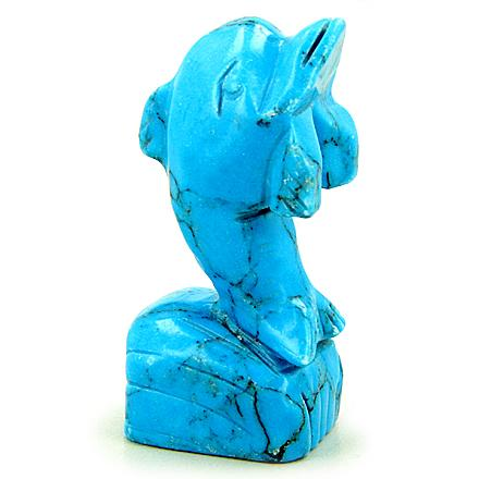 Lucky Dolphin Positive and Good Luck Powers Handcrafted Carvings Amulets and Gifts