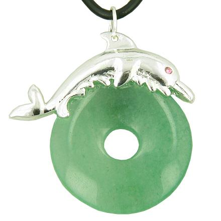 Lucky Dolphin Positive and Good Luck Powers Medallions Jewelry Amulets and Talismans