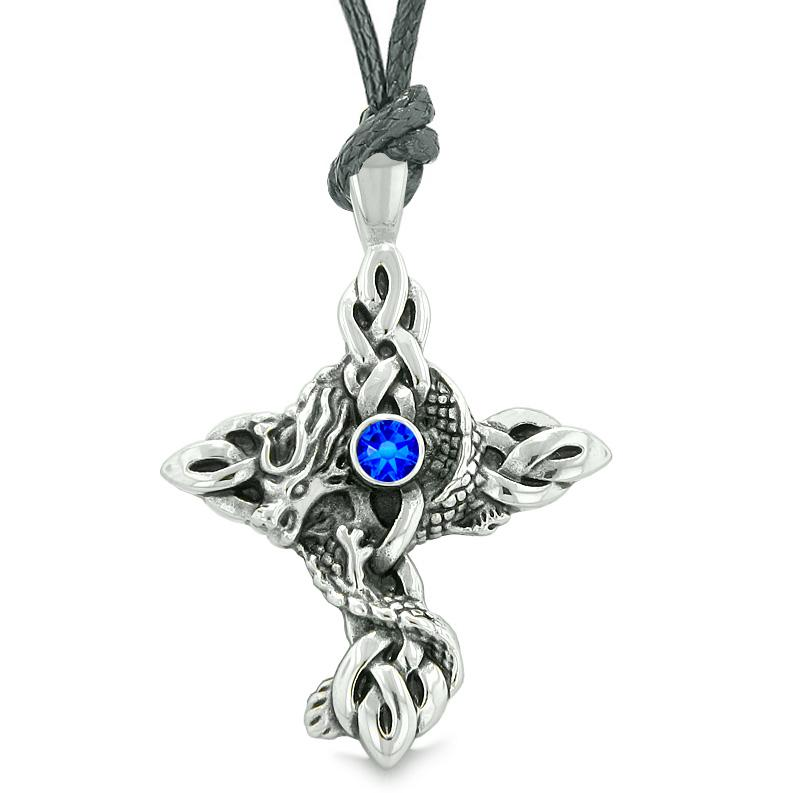 Lucky and Courage Celtic Powers Dragon Good Luck Symbol Jewelry Amulets and Talismans