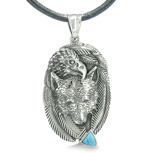 Lucky Eagle Totems Protection and Wild Powers Fashion Jewelry Amulets and Talismans