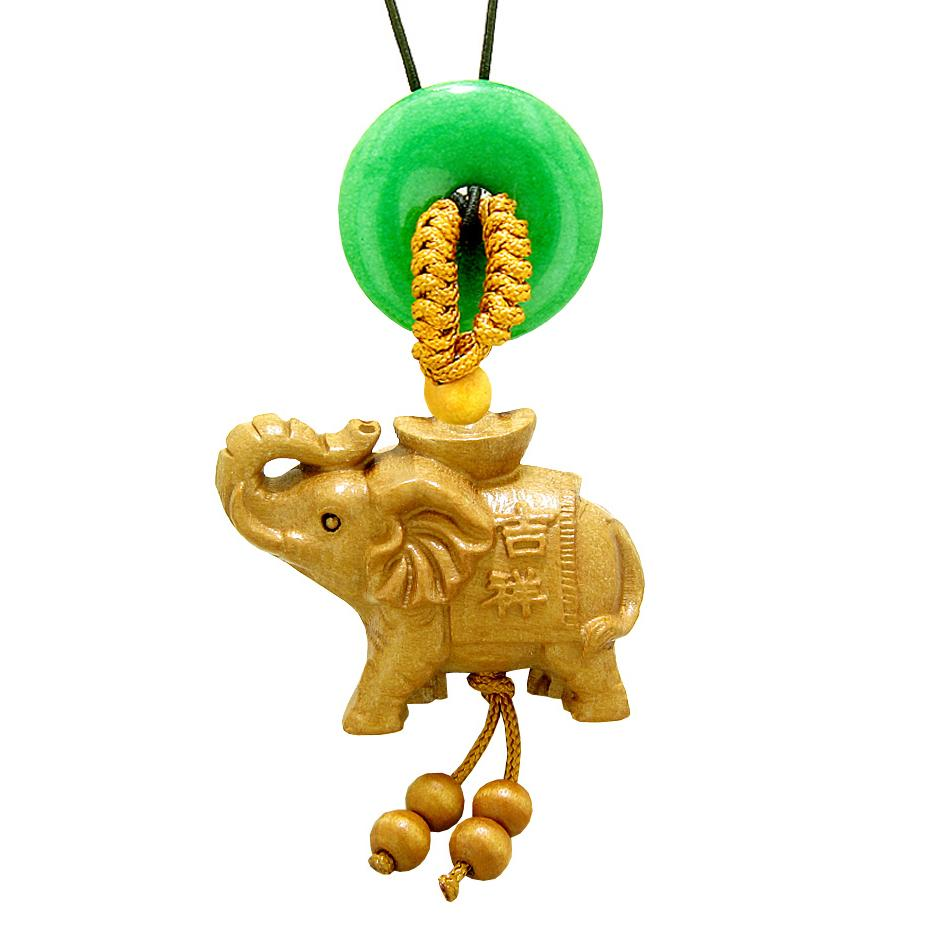 Lucky Elephant Good Luck Charms Car Charms Amulets and Talismans